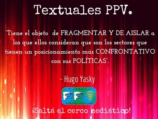 Hugo yasky 1