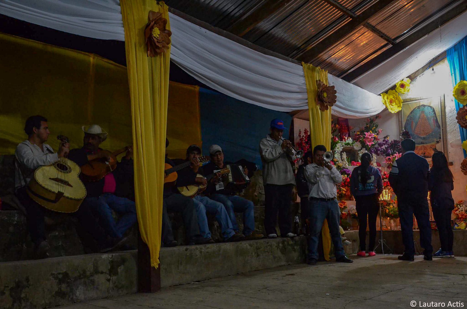 Fiesta de la Virgen de Guadalupe ©