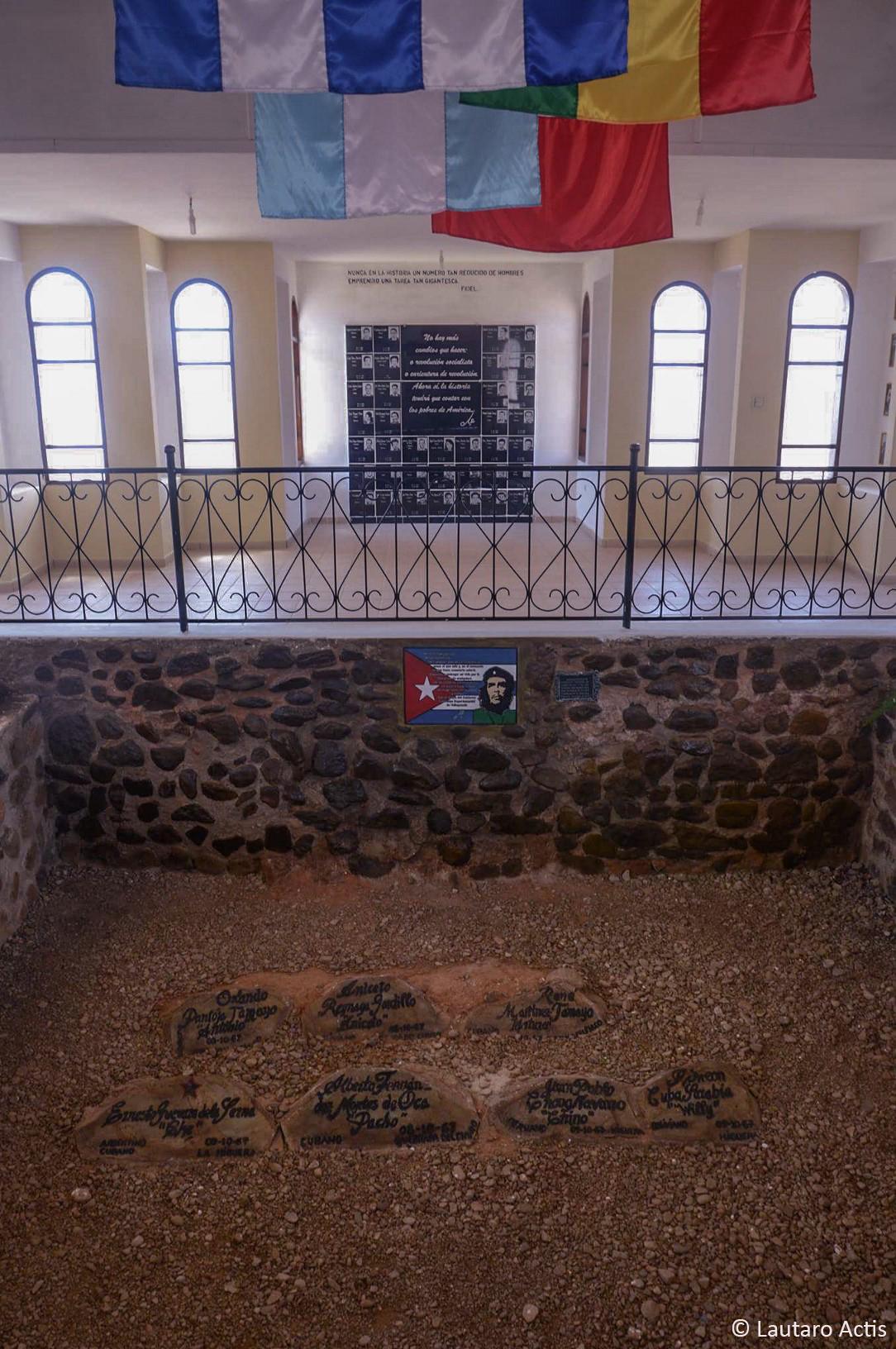 Mausoleo del Che, donde estuvo enterrado como NN por 30 años (3) ©