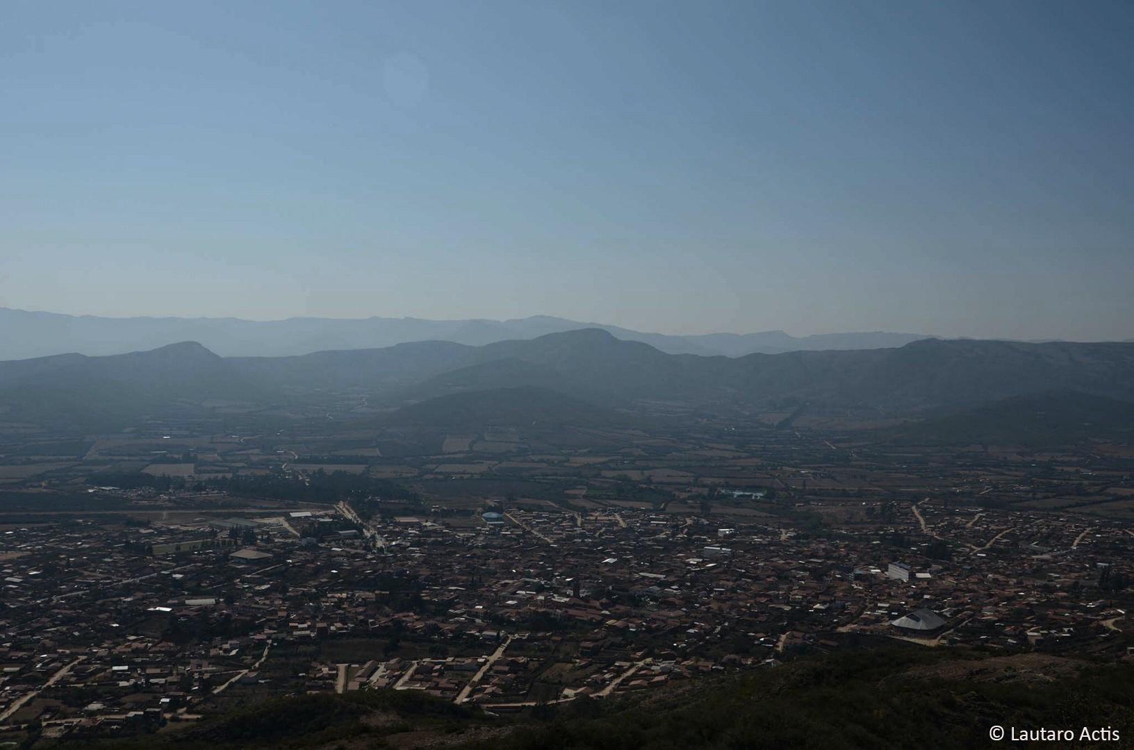 Panorámica de la ciudad de Valle Grande ©