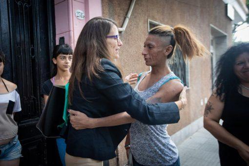 Arroyo, Gómez Alcorta y Fagioli visitaron el Centro Integral Casa Frida